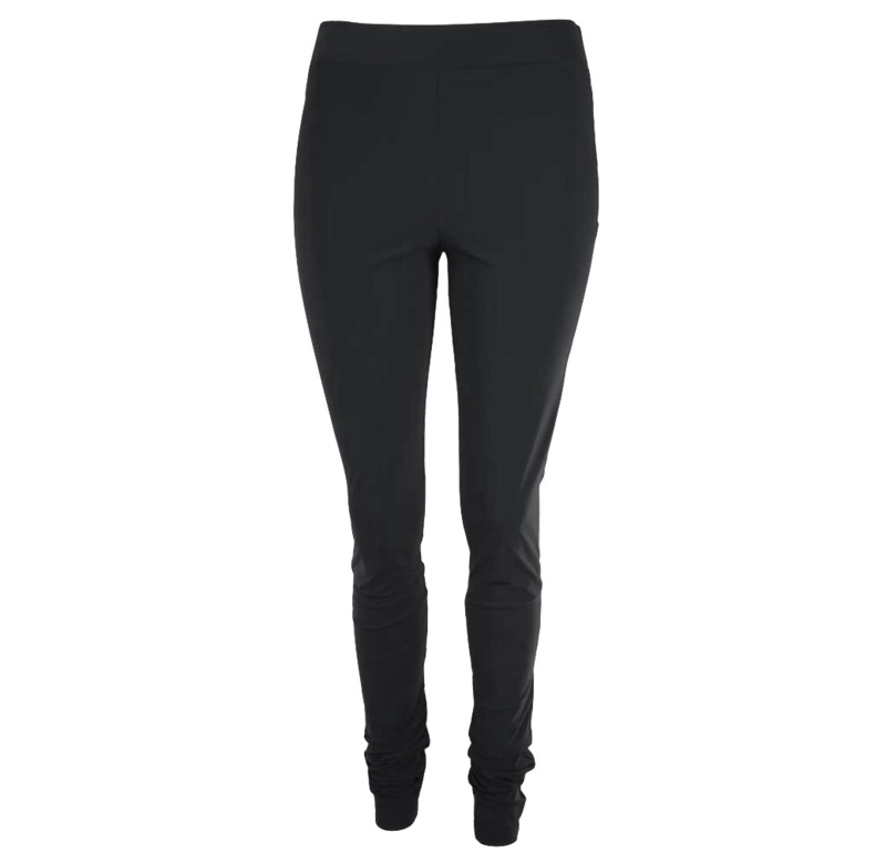 Jane Lushka travelstof legging zwart effen (basis collectie)