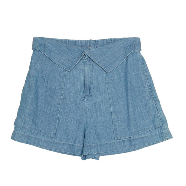 Md'M blauwe denim short 6.71.723.38