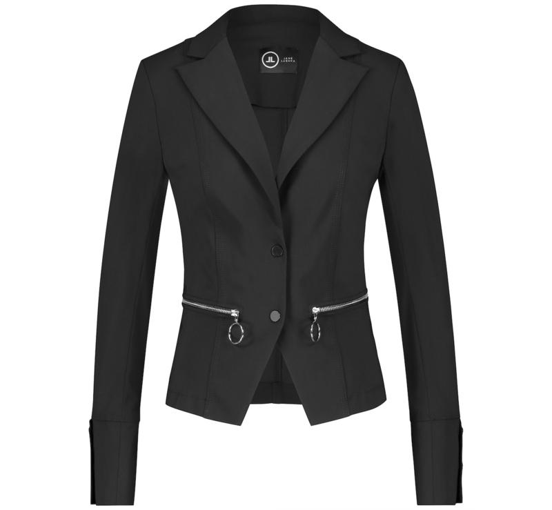 *AKTIE* Jane Lushka zwarte blazer Milano BB110UZ