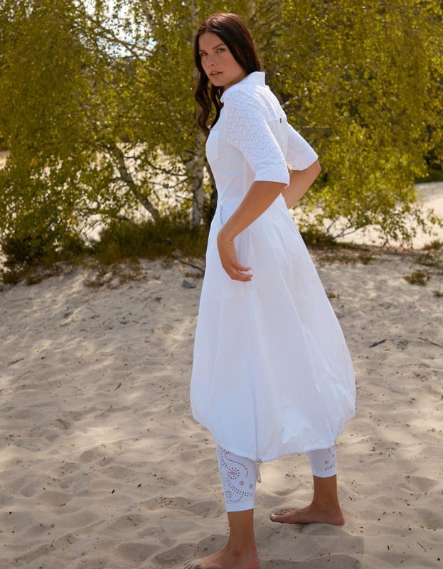 Mc Planet by Innate 2021 Ono witte a-lijn jurk