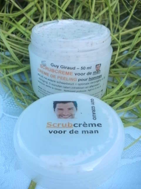 Scrub cream for men - 50 ml