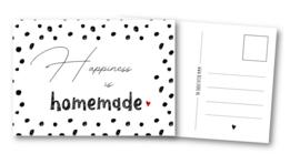 Kaart   Happiness is homemade
