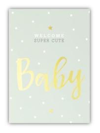 Kaart | Welcome baby boy