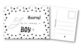 Kaart | It's a boy