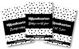 Mega bundel mijlpaalkaarten | Zwanger, eerste jaar & 1-5 jaar