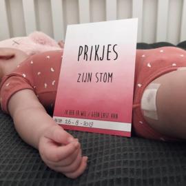 Mijlpaalkaarten baby's eerste jaar | Watercolor