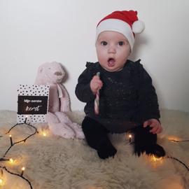 Mijlpaalkaarten baby's eerste jaar | zwart wit