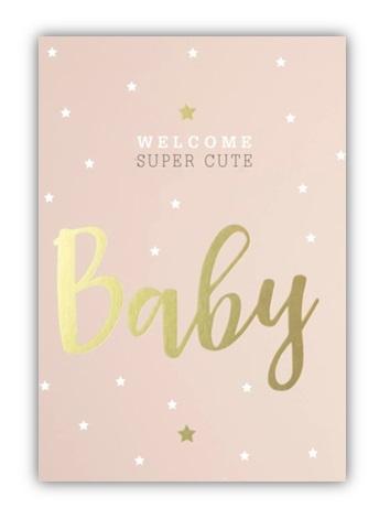 Kaart | Welcome baby girl
