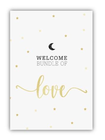 Kaart | Welcome bundle of love