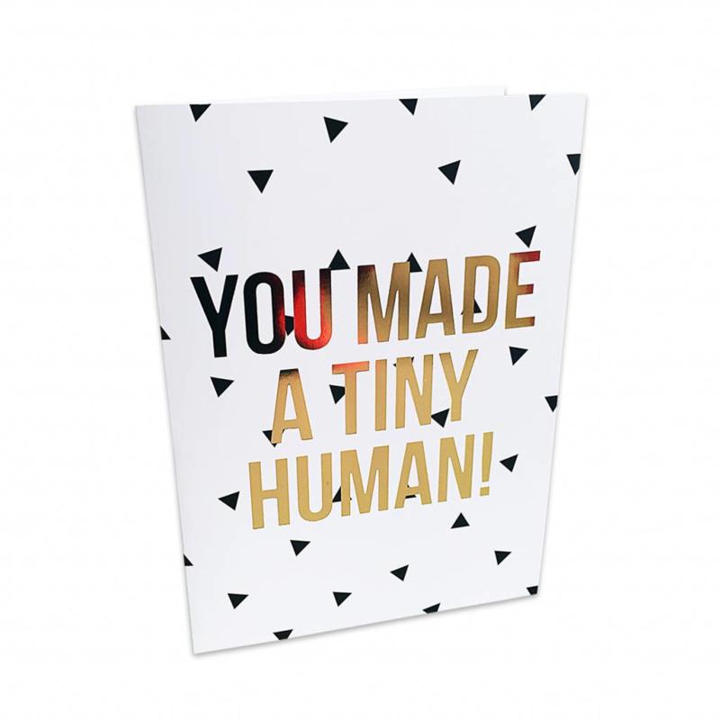 Kaart | You made a tiny human