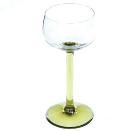 Wijnglas - vintage - hoog