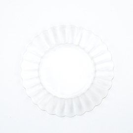 Serveerschaal - vintage - bloemvorm - Duralex