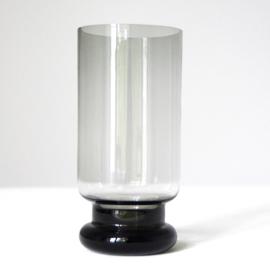 Glas - vintage -hoog - op voet