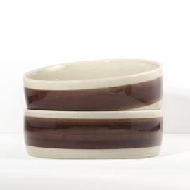 Saladeschaal - serveerschaal - vintage - Melitta