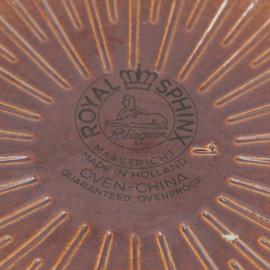 Dekschaal - ovenschaal - vintage - Royal Sphinx Maastricht