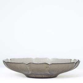 Serveerschaal - vintage - op voet - bloemvormig - Arcoroc