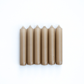 Kaars - Camel - Rustik Lys - 6 stuks