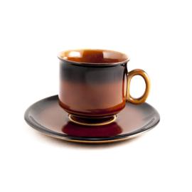 Koffiekop en schotel - vintage - Boch Belgium