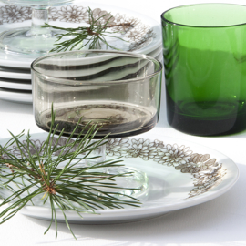 Glas -  Cavalier - bruin - vintage - Luminarc