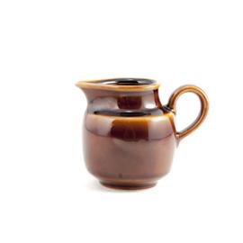Melkkan - vintage  -bruin - Colditz