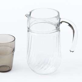 Karaf - vintage - helder glas