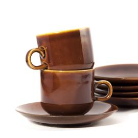 Koffiekop met schotel - Colditz