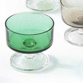 Glas - Cavalier - lichtgroen - vintage - Luminarc
