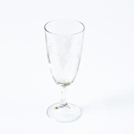 Glas - vintage - champagne - set van twee ( 5 x 2 stuks beschikbaar )