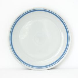 Serveerschaal - vintage - lichtblauw - Colditz