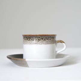Koffiekop en schotel - vintage - Hitkari