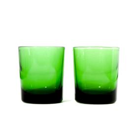 Waterglas - vintage - set van twee ( 2x beschikbaar)