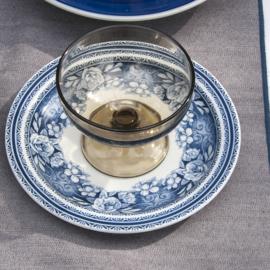 Denim tafelkleed Bliek Tof Tafelen grijs/blauw