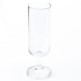 Glas - vintage - champagne - set van vier