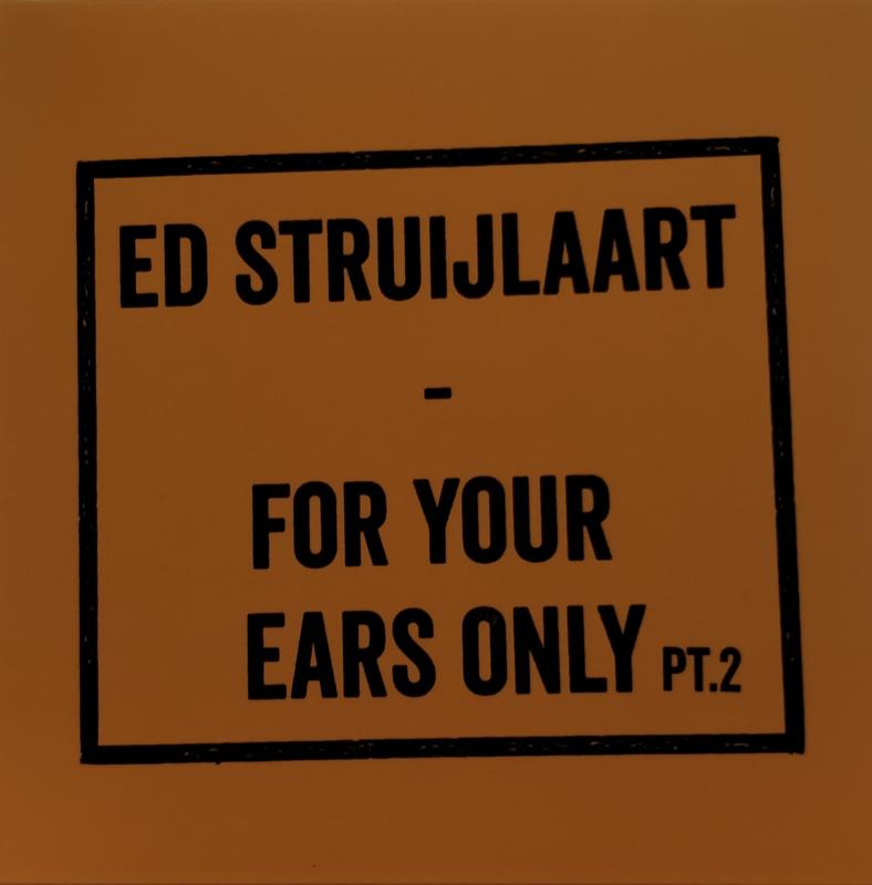 For Your Ears Only pt.2 (Gitaarmannen editie) (UITVERKOCHT)