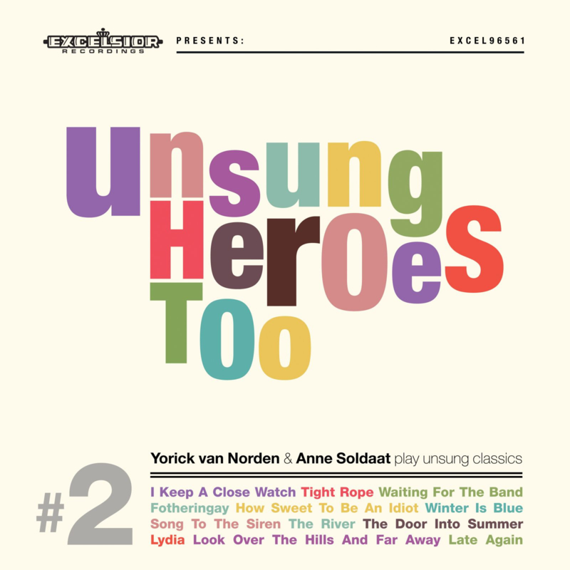 Unsung Heroes Too (LP + CD, gesigneerd)