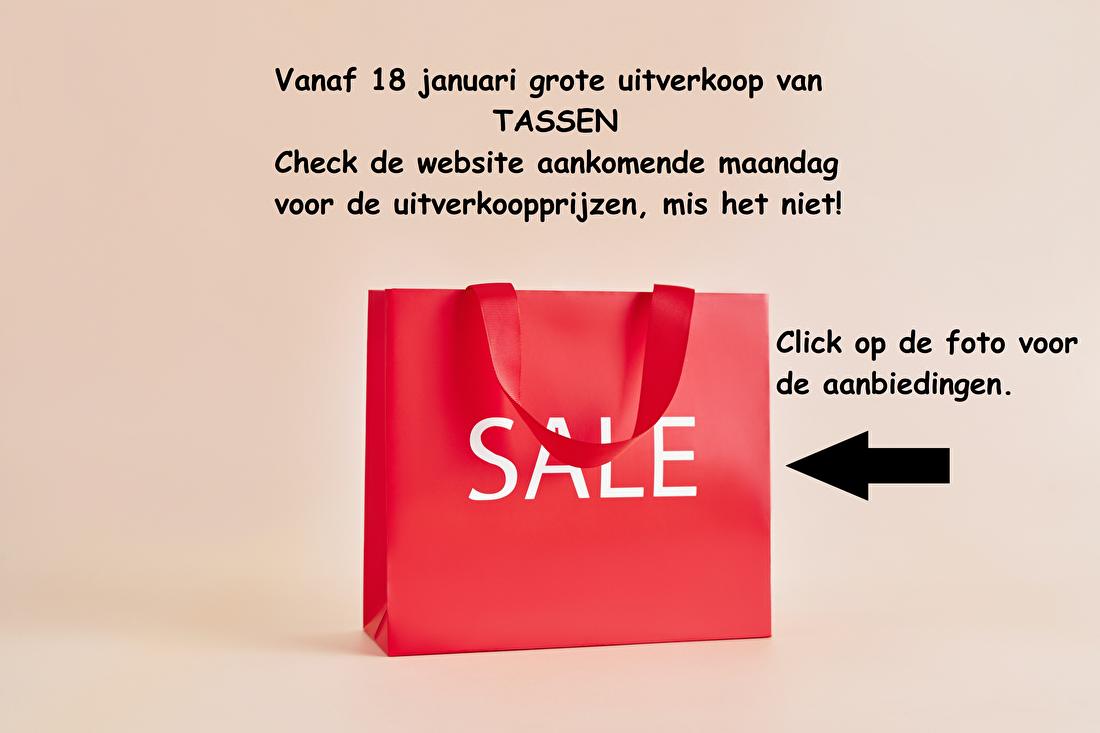 Sale Tassen vanaf 18 januari