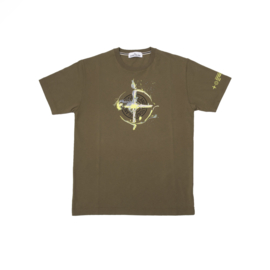 STONE ISLAND T-SHIRT MARBLE