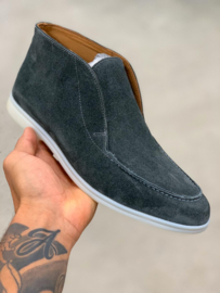 HON SUEDE BLUE GREY