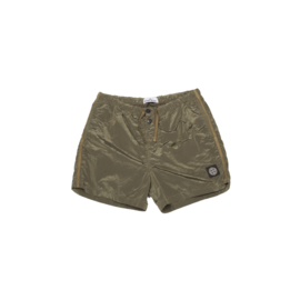 STONE ISLAND SWIMSHORT NYLON METAL OLIVE GREEN