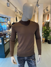 Aeden knitted longsleeve brown
