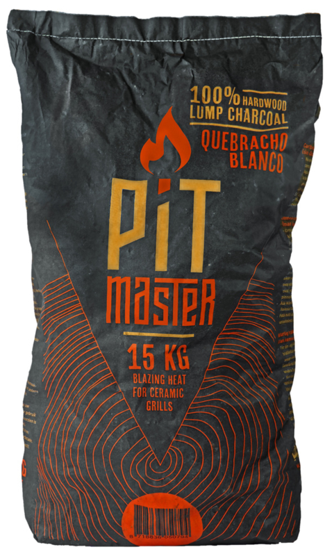 PitMaster Quebracho Blanco houtskool zak 15 Kg