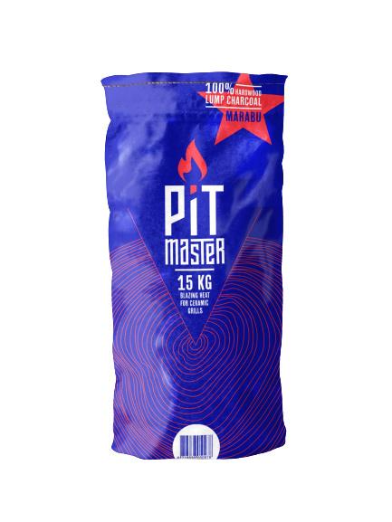 PitMaster Marabu houtskool zak 15 Kg