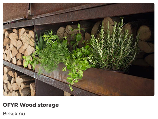 BBQhoorn - OFYR wood storage