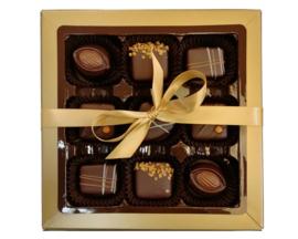 Bonbons geschenkdoos 9 vaks  puur