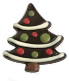 Zakje met kerstboom puur