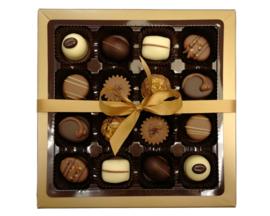 Bonbons geschenkdoos 16 vaks neutraal