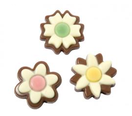 Zakje met voorjaarsbloemen