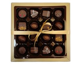 Bonbons geschenkdoos 16 vaks puur