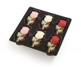 Geschenkdoos met rozen
