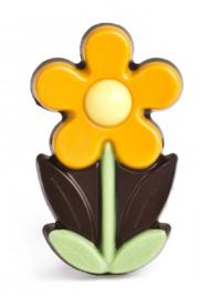 Zakje met flower marie oranje